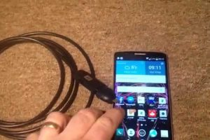 What are the advantages of android endoscope