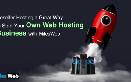 reseller Hosting a Great Way to Start Your Own Web Hosting Business with MilesWeb